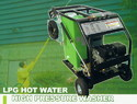 LPG Hot Water Pressure Washer