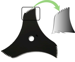 Triangle Blades